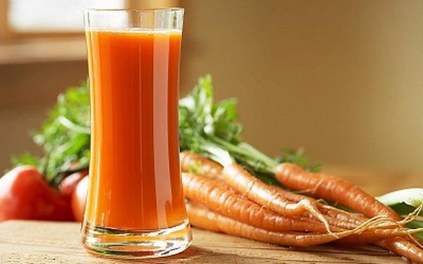 Cách làm sinh tố cà chua cà rốt, sữa đặc