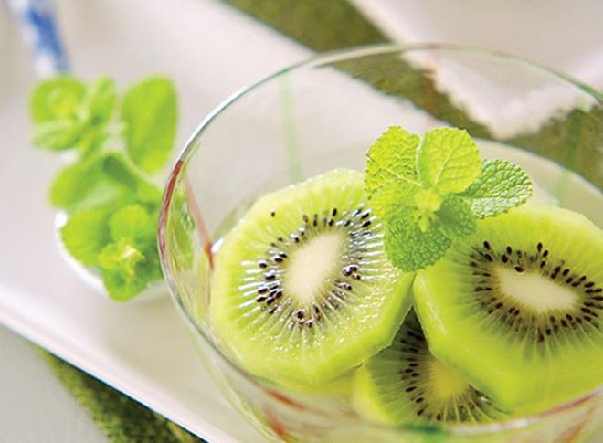 Cách làm sinh tố kiwi sữa chua