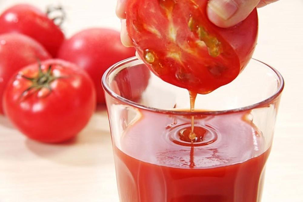 Lưu ý khi sử dụng sinh tố cà chua hàng ngày